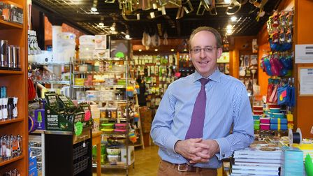 Bruce Crane, owner of Loose's Cookshop, is looking forward to new challenges and businesses as the s