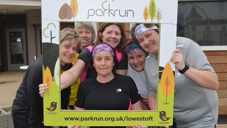 Lowestoft parkrun on Saturday 28th May 2018. Photo: Daren Coulter