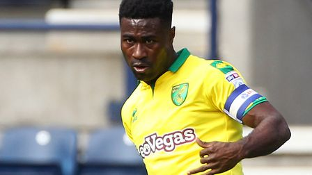 Alex Tettey has signed a new two-year deal with Norwich City. Picture: Paul Chesterton/Focus Images