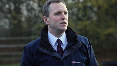 Peter Simpson, Anglian Water chief executive. Picture: Anglian Water