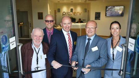 Official opening of the new Proserv centre of excellence called Artemis House on Beacon Park, Gorles
