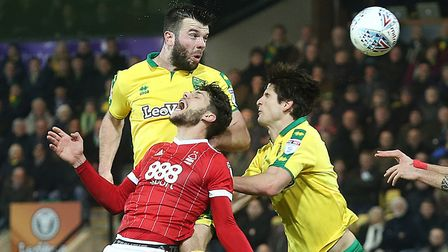 Timm Klose and Grant Hanley formed a sturdy pairing. Picture: Paul Chesterton/Focus Images Ltd