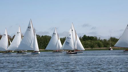 Action from Norfolk Punt Club. Picture: Robin Myerscough