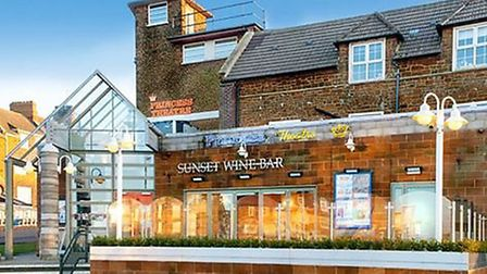The Sunset Wine Bar at the Princess Theatre, Hunstanton Picture: supplied by Princess Theatre