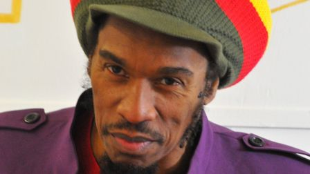 Acclaimed poet and musician Benjamin Zephaniah. Photo: Contributed