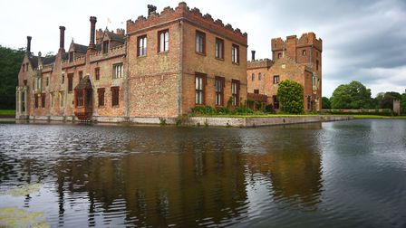 Oxburgh Hall, which is hosting a Woodland Wednesday event on May 30Photo: IAN BURT