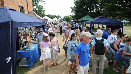 The best of the county's crafts and produce will be on offer at Felbrigg Hall's Made in Norfolk even