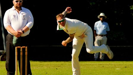 Norfolk one-day skipper Ashley Watson, pictured in action for Norwich, took a hat-trick at Lord's fo