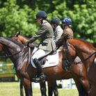 Competitors at the Houghton International Horse Trials Picture: Ian Burt