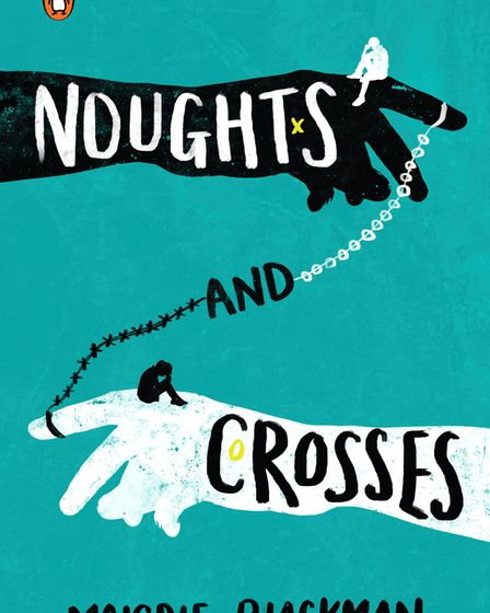 Emily Courdelle's redesign of the Noughts and Crosses book cover. Picture: Penguin Random House/Emil