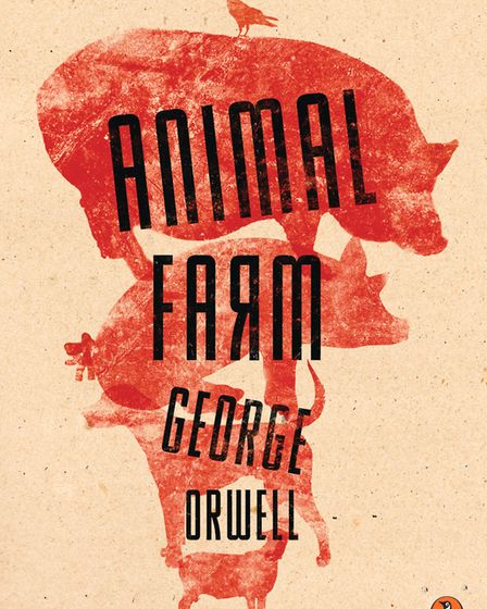 Emily Courdelle's redesign of the Animal Farm book cover. Picture: Penguin Random House/Emily Courde