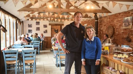White House Farm. Owners, Charlotte and Oliver Gurney. Picture : ANTONY KELLY