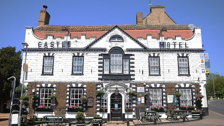 The Castle Hotel, which is up for sale. Picture: Chris Bishop