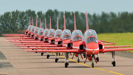 The Red Arrows are in the first day line-up. Pic Keith Newsome/iwitness/newzulu.com
