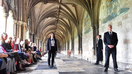 The Voice project start a 12-hour song cycle in Norwich Cathedral Cloisters.The Voice project Quinte
