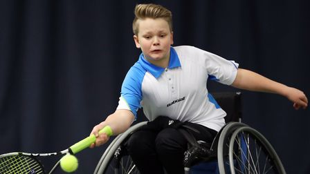 Ben Bartram has been selected by the Tennis Foundation to represent his country at the 2018 BNP Pari