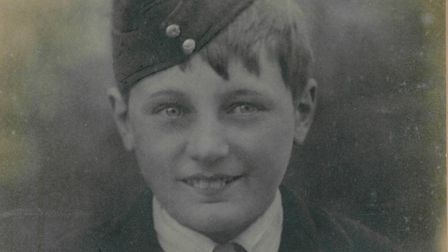 Cecil in his Church Lads'' Brigade uniform. This uniform was placed on his coffin, along with the Un