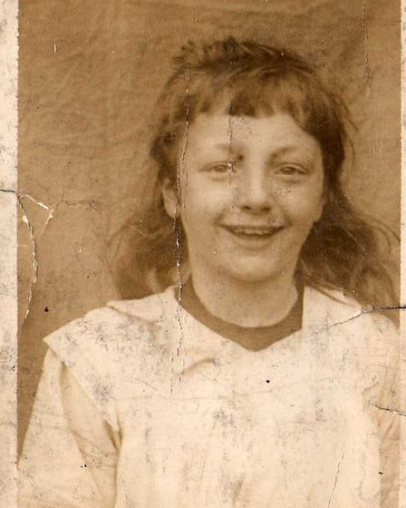 My mother Mabel as a young girl: her beloved brother went missing three days after her seventh birth