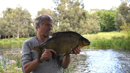 River bream? How majestic are they? Picture: John Bailey