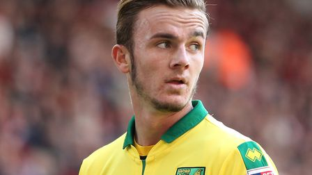 James Maddison is touted with a big-money exit this summer. Picture: Michael Sedgwick/Focus Images L