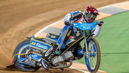 World Champion Jason Doyle is in town on Wednesday evening. Picture: Steve Feeney