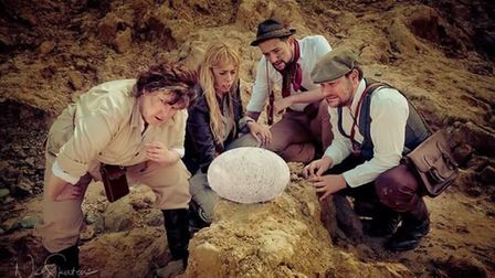 Strange Fascination adaptation of the Jules Verne classic Journey To The Centre Of The Earth. Photo: