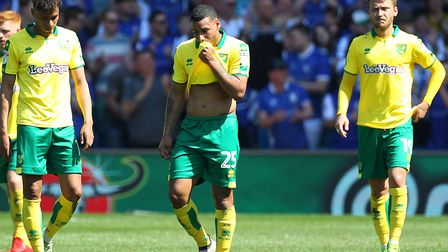 Can Josh Murphy, left, Onel Hernandez, centre, and Tom Trybull help Norwich City engineer a promotio