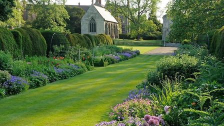 Bishops House Garden in Norwich. Photo: Submitted.