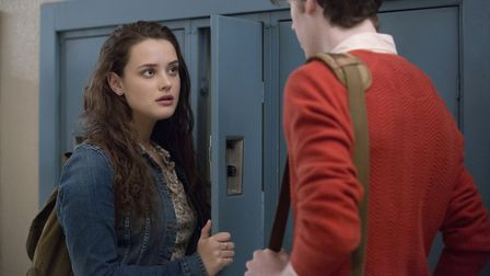 13 Reasons Why: Katherine Langford and Devin Druid (C) Beth Dubber/Netflix