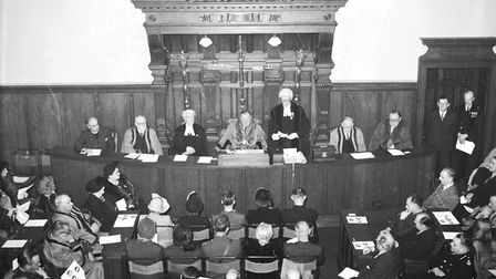 Things have changed rather a lot in local government since this 1950 photograph (which shows Great Y