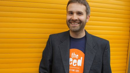 Chief Executive of the Feed Foundation, Matt Townsend.