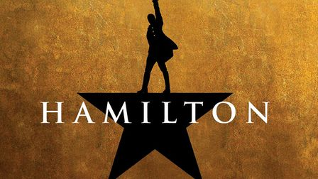 The logo for the show Hamilton.Image: supplied by RAW PR