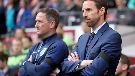 England manager Gareth Southgate, right, won't be the only boss hoping that his team can perform dur
