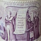 The 1830s mug which recalls the campaign to reform Parliament.