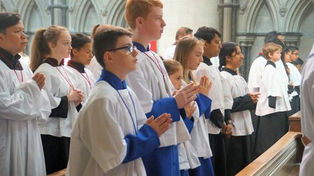 Altar Servers Mass at St John's Cathedral in Norwich. Photo: Keith Morris/www.rcdea.org.uk