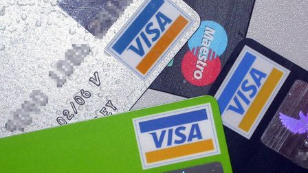 Stock photo of Visa cards. Photo: PA Wire