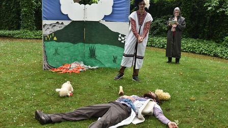 The Guild of St Stephen and St George perform their traditional mystery playByline: Sonya DuncanCopy