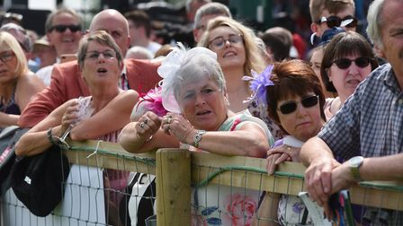 It was Ladies' Day at Fakenham on Sunday. Picture: Sonya Duncan