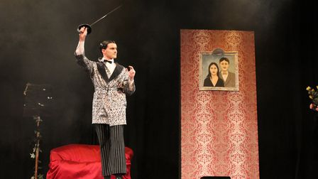 Sprowston Community Academy is performing a production of the musical comedy The Addams Family. Phot