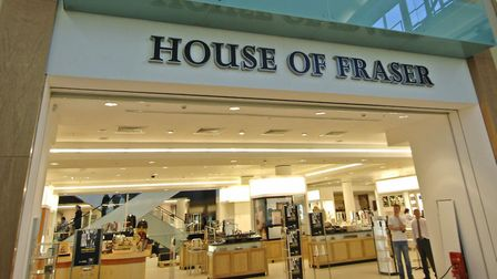 House of Fraser in Intu Chapelfield shopping centre Picture: Antony Kelly