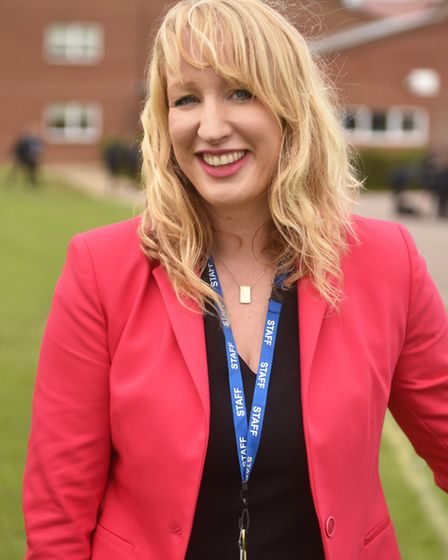 Acle Academy principal Helen Watts. Picture: ANTONY KELLY