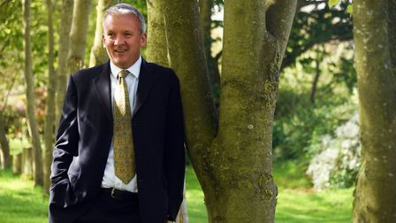 Jon Duffy, chief executive at AF Group. Picture: Denise Bradley