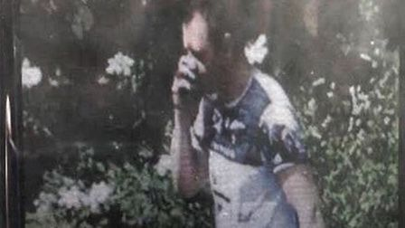 A CCTV image of Tadas Sostakas, 37, who is believed to be the driver of the Mercedes car which crash