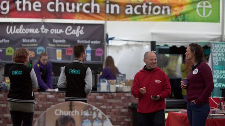 The Diocese of Norwich maquee at The Royal Norfolk Show, 2017. PHOTO: The Diocese of Norwich.
