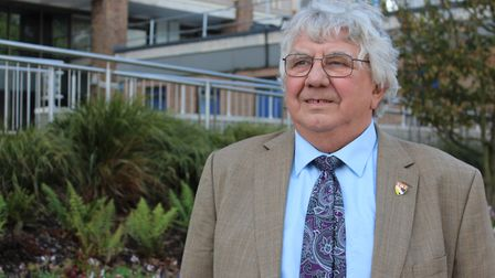 Cliff Jordan, the former leader of Norfolk County Council, who died at the age of 73. Pic: Norfolk C