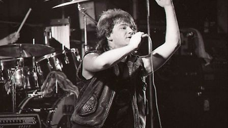 Bono of U2 at UEA in 1981Photo: Adrian JuddFor: Emma Outten feature