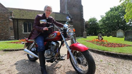 Rev Julie Boyd and her family will be doing a sponsored motorcycle ride from King's Lynn to Invernes