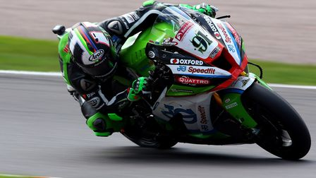 Leon Haslam has impressed this year, on his way to the British Superbike Championship lead on his JG