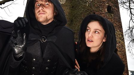 The Shadowcaster and The Silent Hand from Norwich Ghost Walks. Picture: ANTONY KELLY