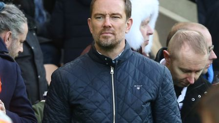 Simon Thomas supporting his son Ethan at a football game. Picture by Paul Chesterton/Focus Images Lt